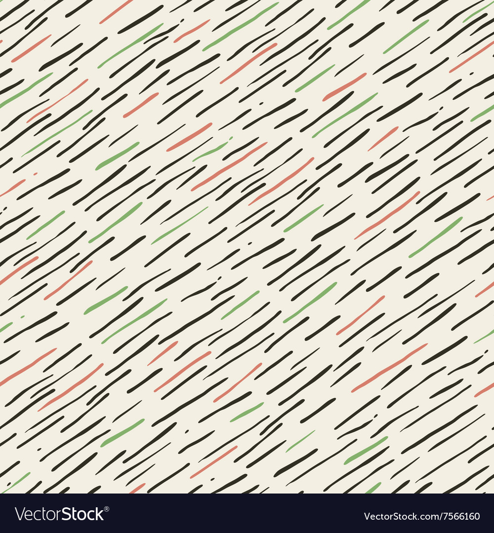 Retro style seamless pattern with colorful lines vector