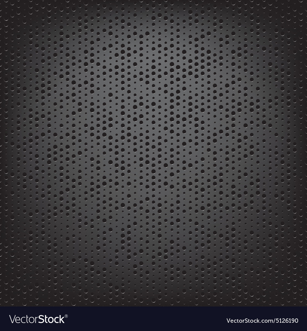 Perforated carbon fiber weave vector