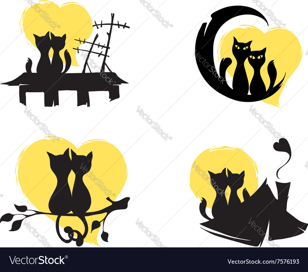 March cats vector