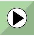 Film and movie icon design vector image