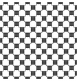 Seamless geometric volume pattern vector image