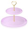 An empty cupcake tray vector image vector image