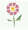 abstract flower fabulous cartoon vector image