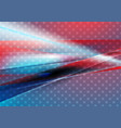 usa colors abstract bright background vector image