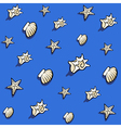 shell pattern vector image