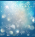 blue festive christmas elegant abstract background vector image