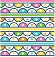 Seamless pattern with cute ornament for wallpaper vector image