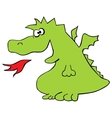 The dragon vector image