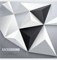 abstract triangle vector image vector image