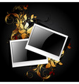 Web icon photo frames vector image