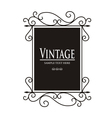 Vintage Lamp sign vector image