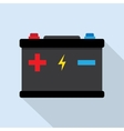 Accumulator battery energy power vector image