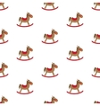 Rocking horse Pattern vector image