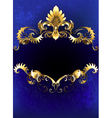 Blue Luxury Banner vector image