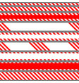 set of seamless tapes used for restriction vector image
