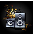 web icon speakers vector image