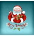 Santa Claus carrying Gifts vector image vector image