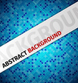 abstract pixels backgroound vector image