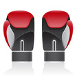 boxing gloves 02 vector image
