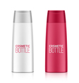 Cosmetic bottle vector image vector image
