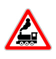 Traffic-road sign vector image