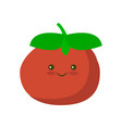tomato icon in flat style isolated object vector image