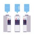 water cooler set vector image