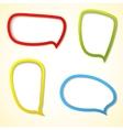 Color web frame vector image