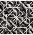 seamless cross tiling pattern modern vector image