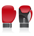 boxing gloves 03 vector image