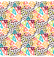 hipster seamless pattern fashion background with vector image