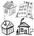Collection of apartments vector image