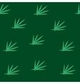 Grass green seamless pattern vector image