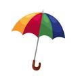 umbrella isolated on white background vector image