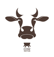 Cow Isolated animal on white background vector image