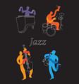 jazz 5 vector image