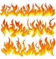 Set of firewall vector image