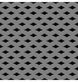 Metal grid seamless pattern vector image