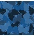 Butterfly camouflage seamless pattern vector image