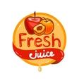 fresh juice emblem 12 vector image