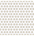 stars pattern background isolated icon vector image