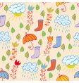 Weather background vector image