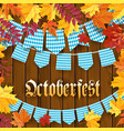 oktoberfest traditional german autumn festival of vector image vector image