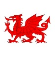 Welsh Dragon vector image