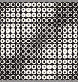abstract black and white pattern background vector image
