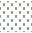 backpack schoolbag pattern seamless vector image