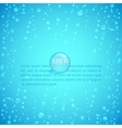 Waterdrops vector image