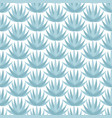 blue agave seamless pattern vector image