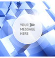 3D business Abstract background vector image