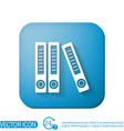 office folders with papers and documents Archives vector image